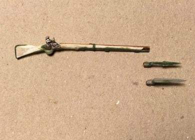 French colonial infantry muskets